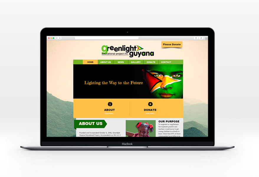 Barefoot Creations - Greenlight Guyana Website