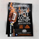 Hot Comic Flyer