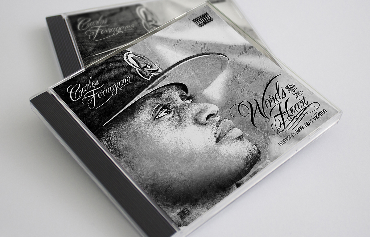 CD, hip hop, design services